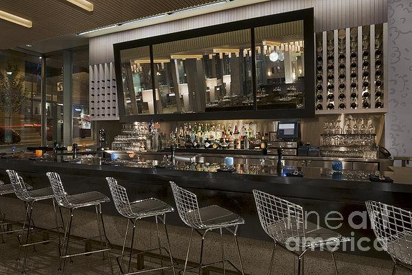 Modern Bar Print by Robert Pisano