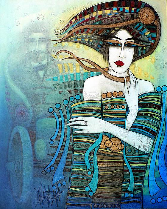 Moi Non Plus Print by Albena Vatcheva