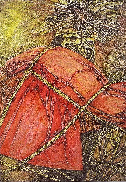 Momia Chiribaya Print by Pamela Iris Harden