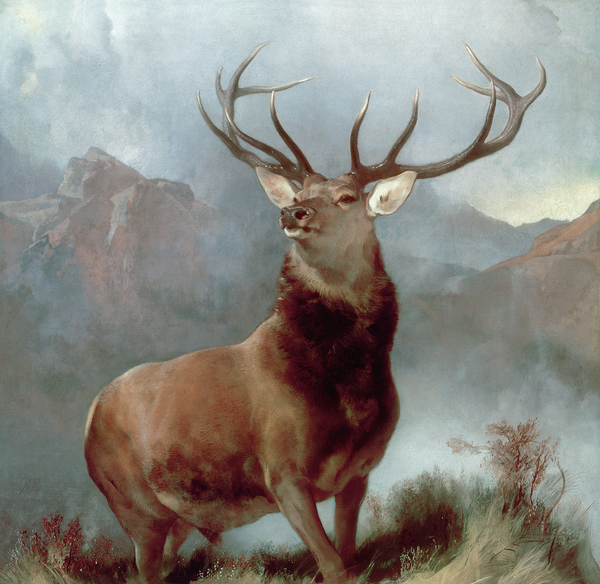 Monarch Of The Glen Print by Sir Edwin Landseer