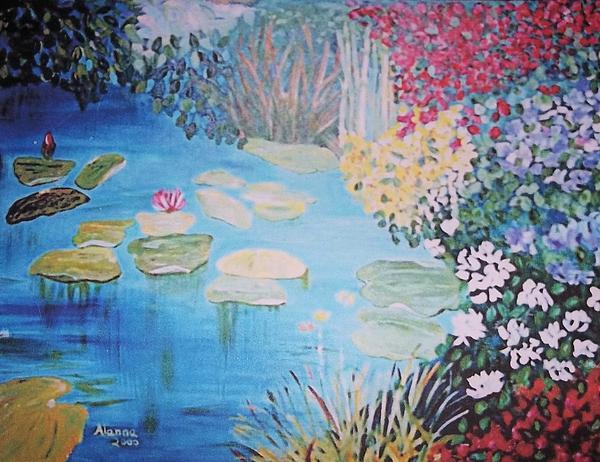 Monet Style By Alanna Print by Alanna Hug-McAnnally