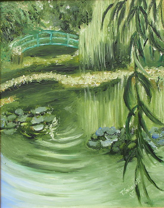 Monets Garden Painting