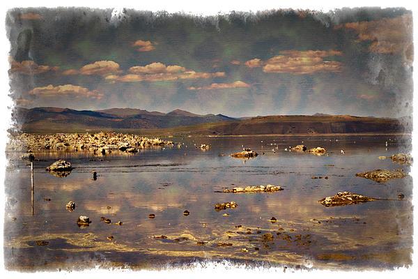 Mono Lake - Impressions Print by Ricky Barnard