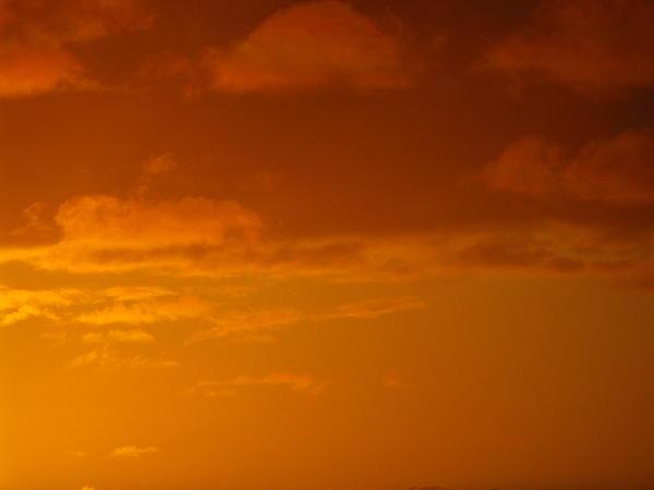 Orange sky HD wallpaper #1718928
