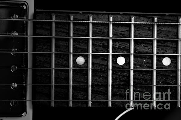 David Weeks - Monochrome Fretboard