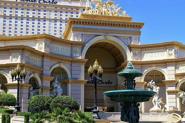 Monte Carlo Casino Resort Print by Mariola Bitner