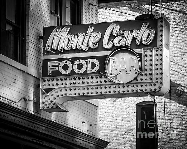 Monte Carlo Food Print by Perry Webster