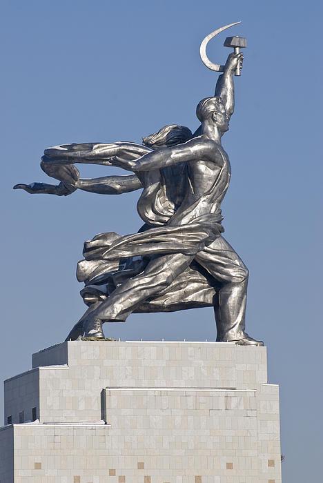 Monument Print by Igor Sinitsyn