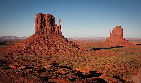 Monument Valley At Sunset Print by by Carlos Esteves TOP Photography