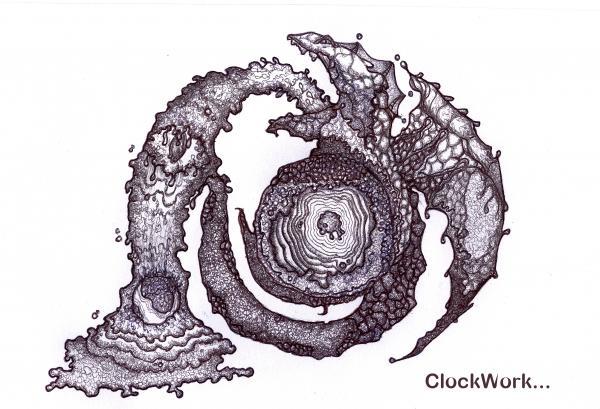 Moon Guardian Print by ClockWork Rockawn
