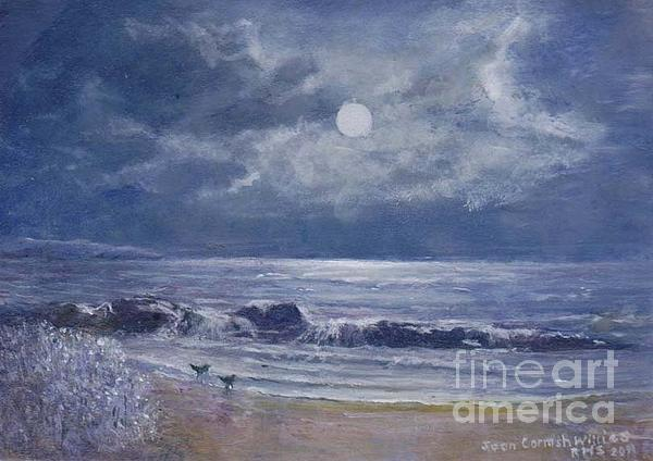 Moonglow Print by Joan Cornish Willies