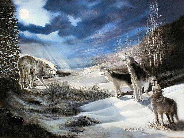 Chris J Worden Gregg - Moonlight Predator