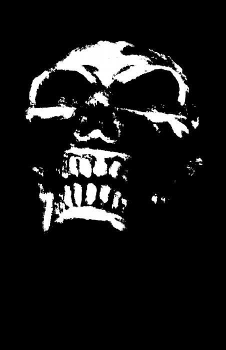 Morbid Skull Print by Roseanne Jones