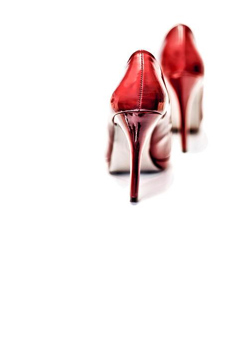 More Red Hot Seduction Print by Bob Daalder