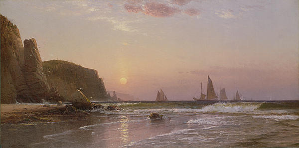 Morning At Grand Manan Print by Alfred Thompson Bricher