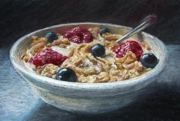 Morning Sustenance Painting by Ariel Freeman - Morning Sustenance ...