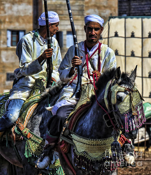 Morocco Dual Print by Chuck Kuhn