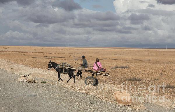 Morocco Transportation Print by Chuck Kuhn