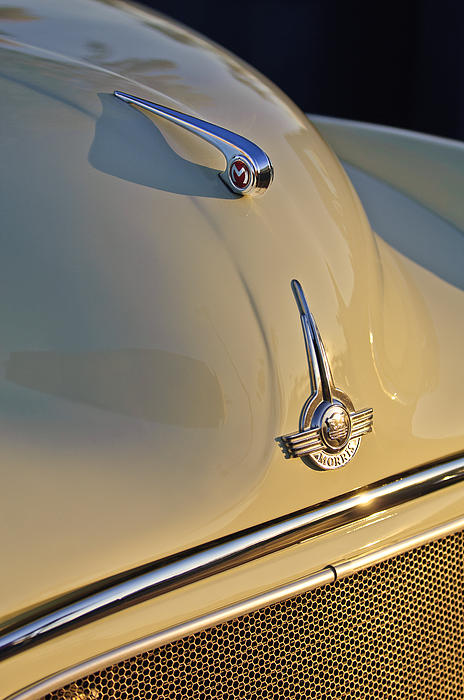 Morris Minor 1000 Hood Ornament Photograph