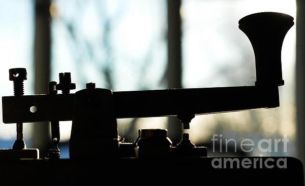 Morse Code Love Print by Anahi DeCanio Photography