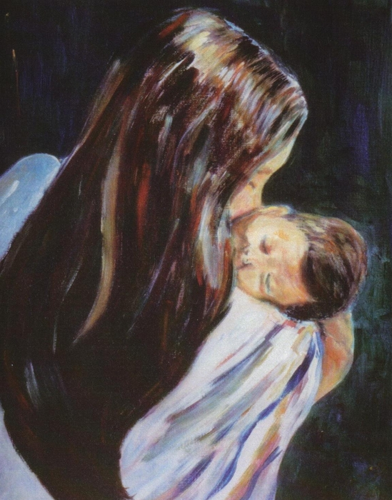 mother and child relationship paintings of horses