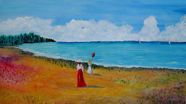 Marilyn  McNish - Mother and daughter