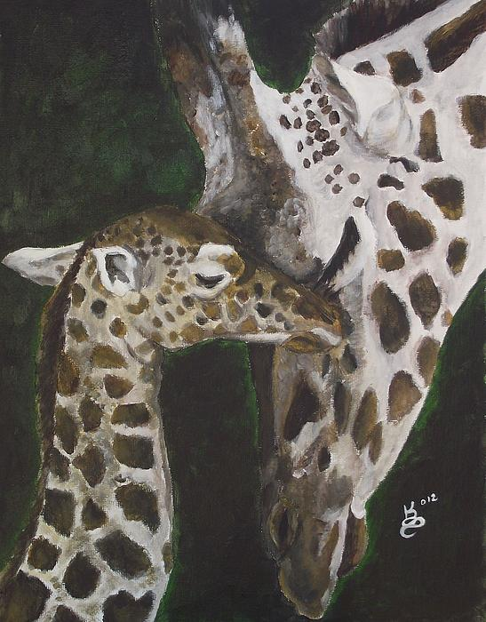 Motherly Love Print by Kim Selig