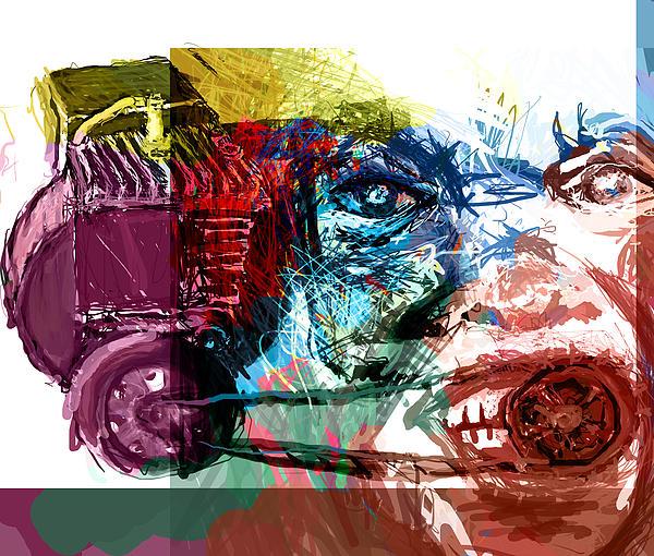 Motor Mouth Print by James Thomas
