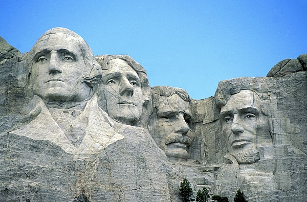 Mount Rushmore Print by American School