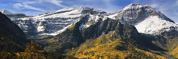 Mount Timpanogos Print by Utah Images