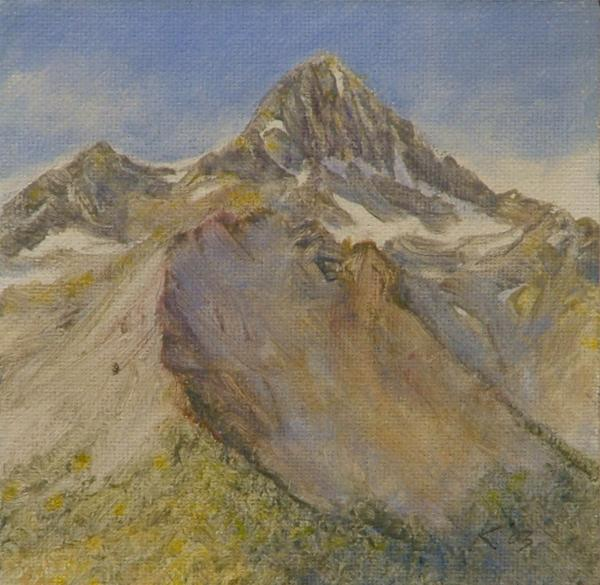 Mount Wilson Colorado Rockies Painting