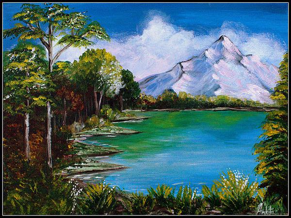 Ankita Ghosh - Mountain