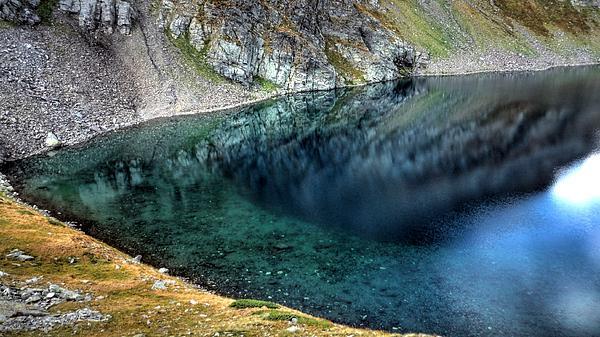 Mountain Lake Print by Martin Marinov