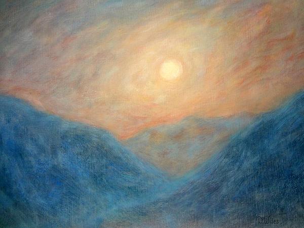 Mountain Mist Print by David Wiles