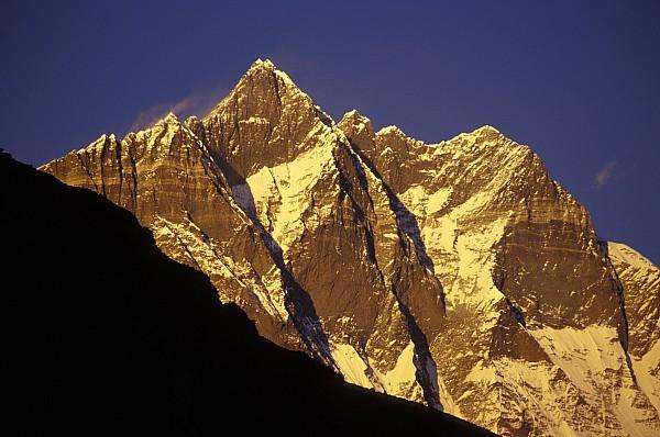 Mountain Peaks Print by Sean White