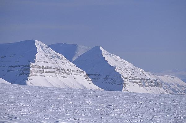 Mountains Above Kings Glacier Print by Gordon Wiltsie