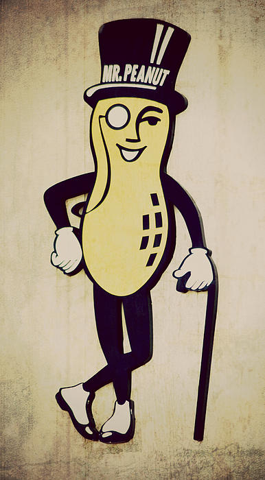 Robin Dickinson - Mr Peanut