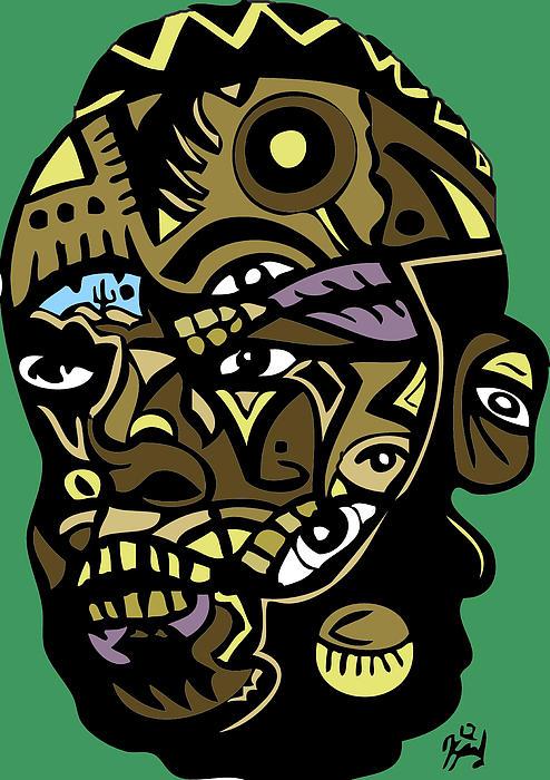 Mr-t-stjgfencil-446-p-picsay Print by Kamoni Khem