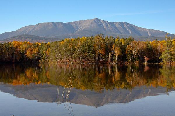 Glenn Gordon - Mt Katahdin Baxter State Park Fall 1