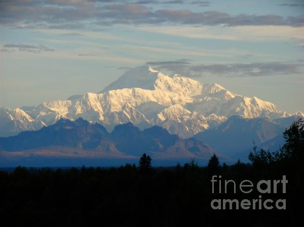 Dora Miller - Mt McKinley known as Denali