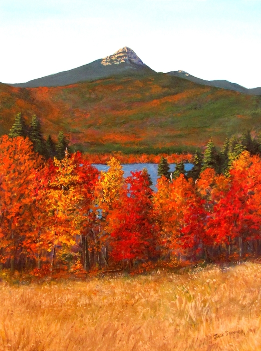 Mt.chocorua Print by Jack Skinner