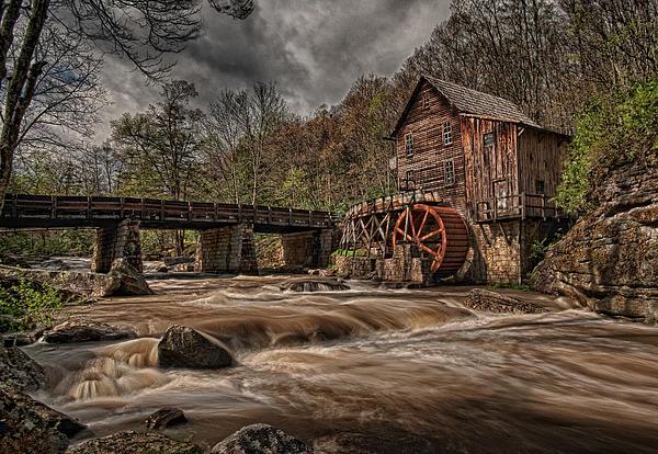 Muddy Water Print by Wade Aiken
