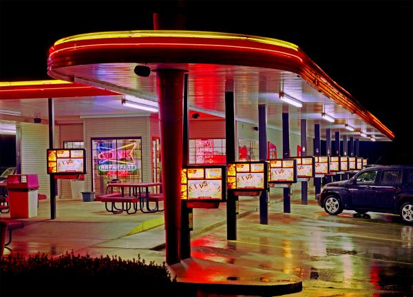 sonic drive in A blast from the past from a hamburger and root beer stand called top hat to america's favorite drive-in, sonic has revolutionized the ordering process.