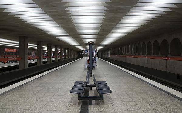 Munich Subway No.1 Print by Wyn Blight-Clark