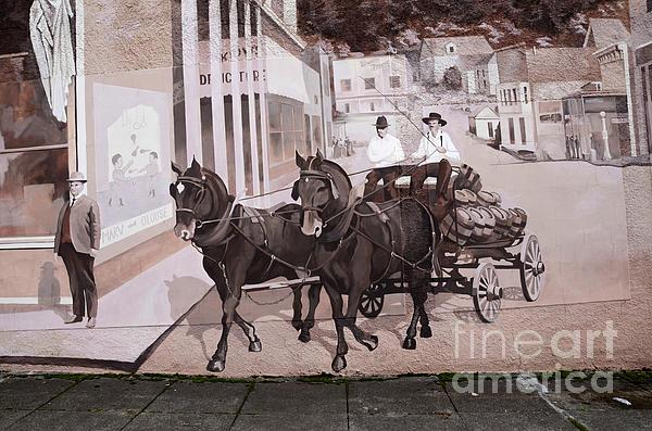 Mural Art Oregon 2 Print by Bob Christopher