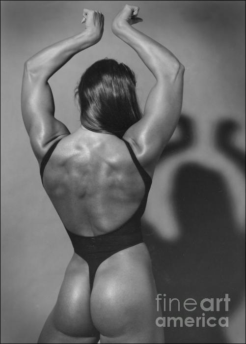 Muscle Woman Photograph - Muscle Woman Fine Art Print - Peter Lerman