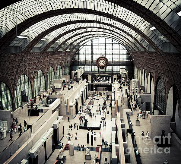Musee D'orsay II Print by RicharD Murphy