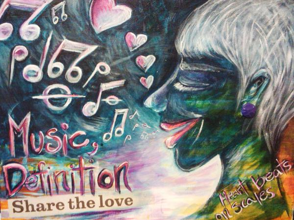 Music Definition Mixed Media by Careth Arnold - Music Definition ...
