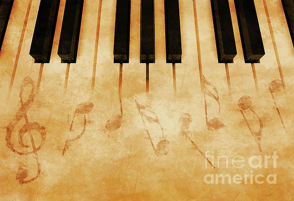 Music Print by Giordano Aita