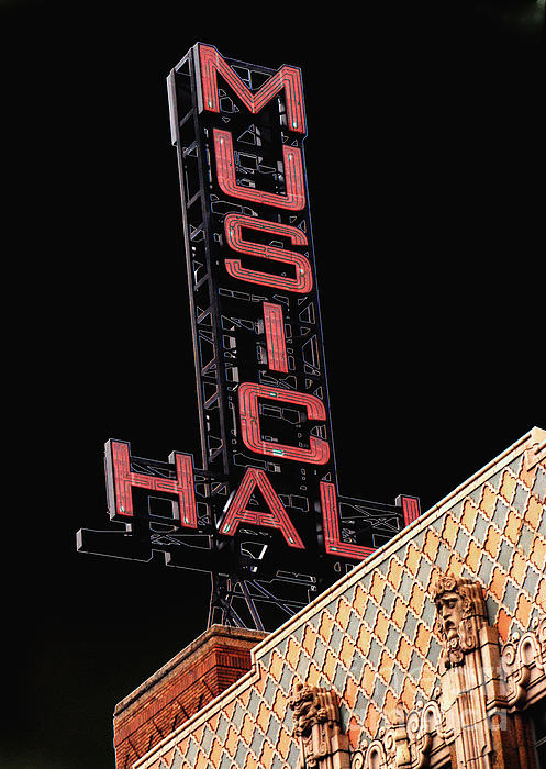 Grace Grogan - Music Hall Sign
